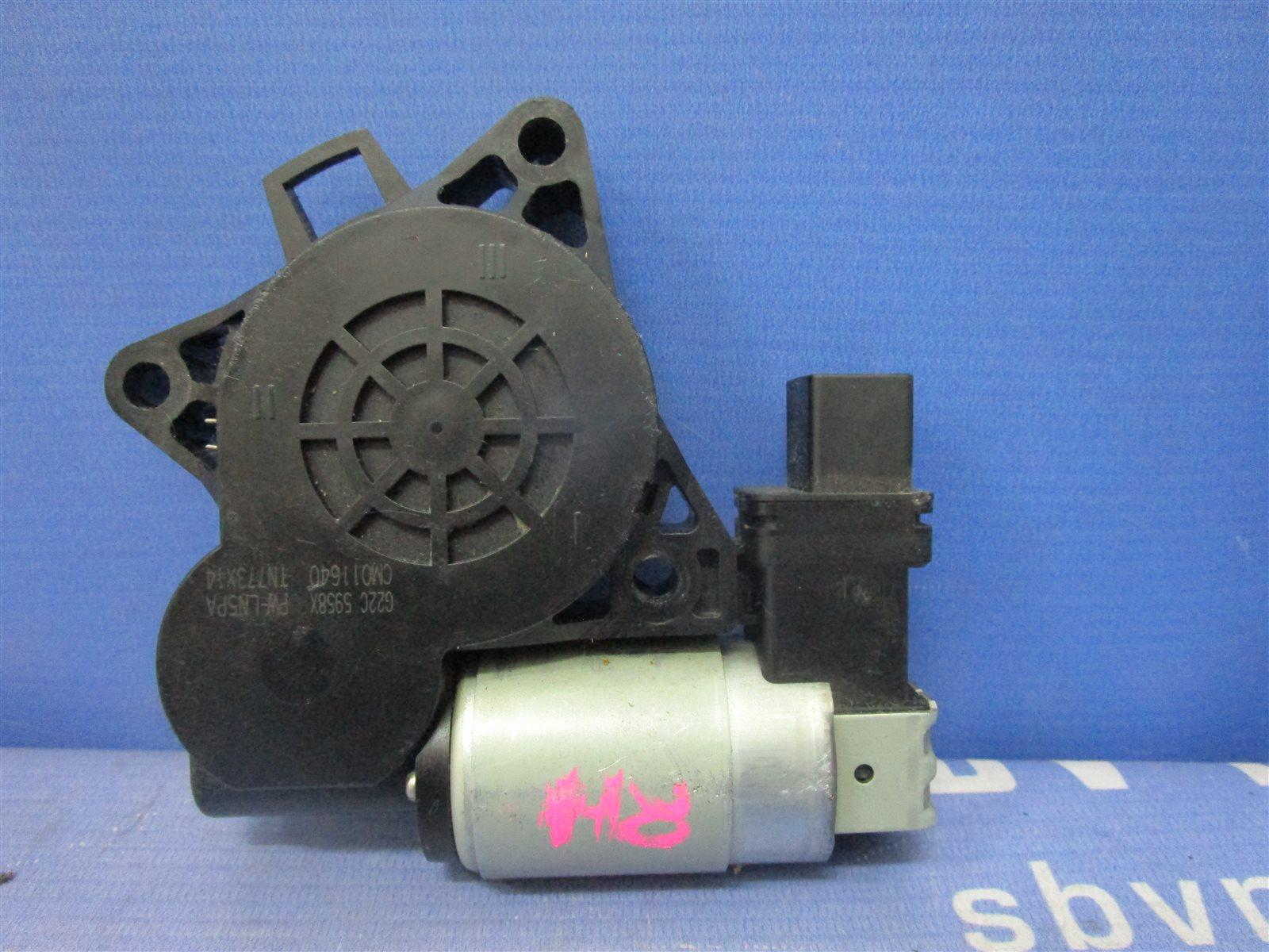 Мотор стеклоподъемника Mazda 6 GG L3WE 2002 задний правый