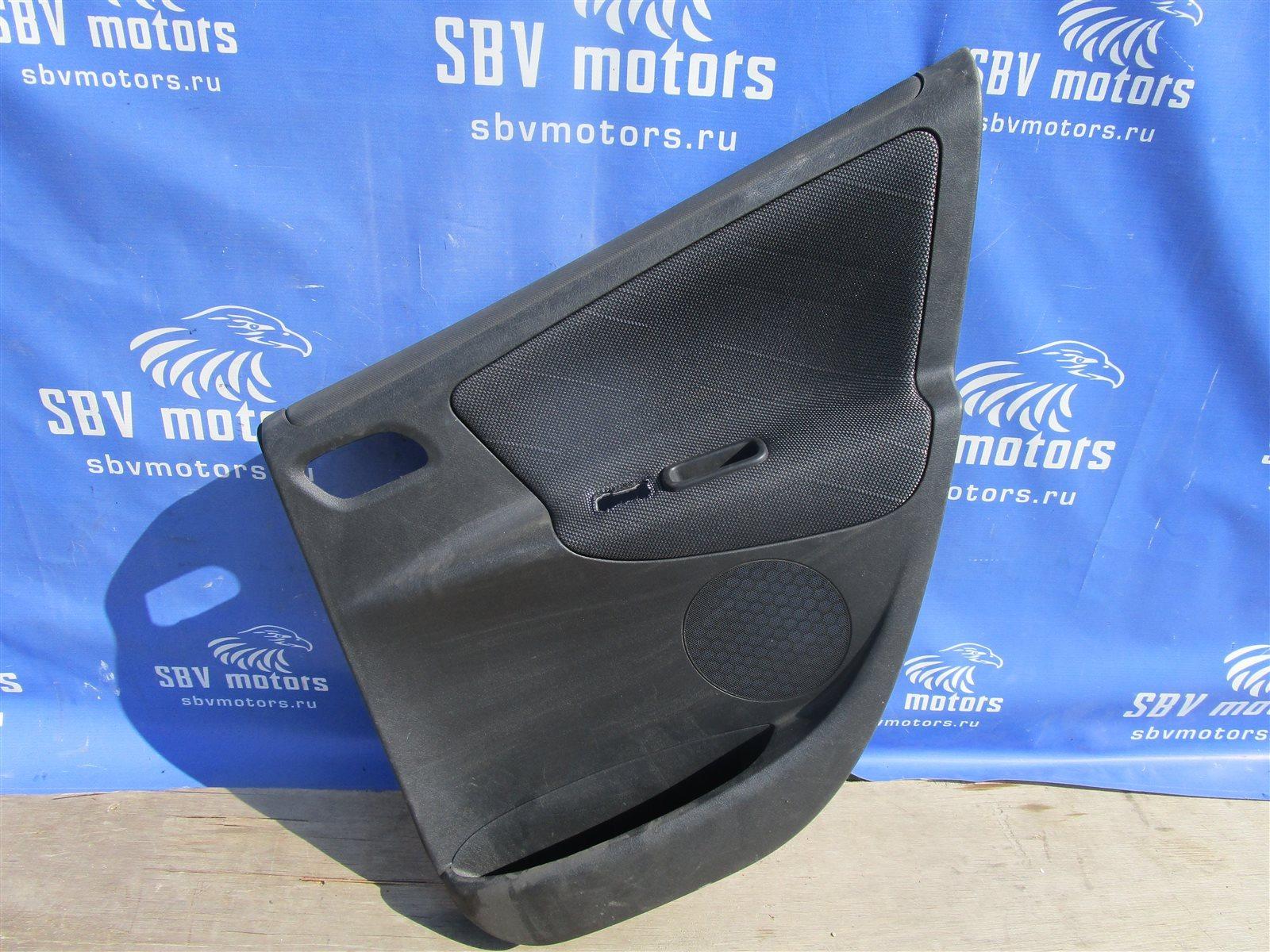 Дверная карта Peugeot 207 WC / WA / WK / WB NFU10RX4X задняя правая