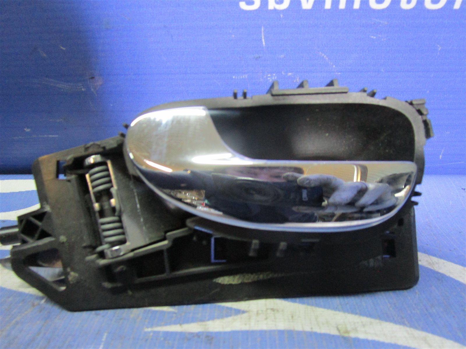 Ручка двери внутренняя Peugeot 307 3H NFU10FX5PPSA 2005 передняя левая