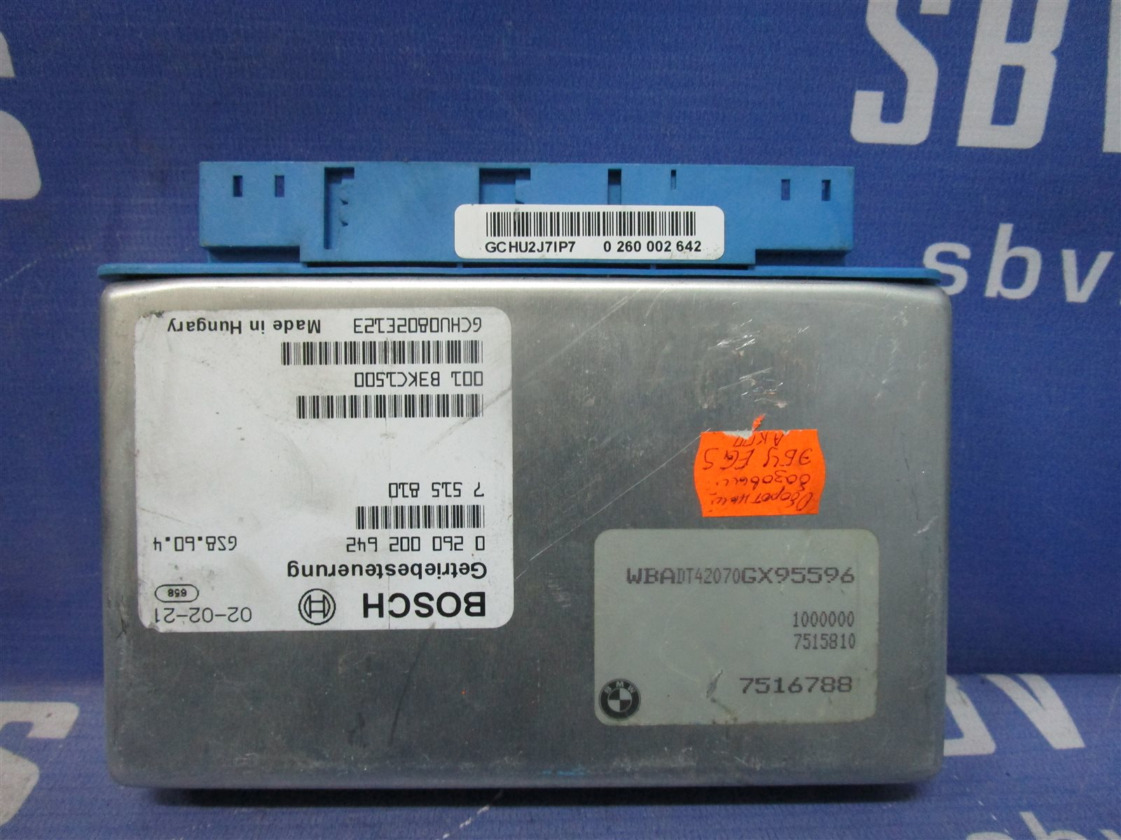 Блок управления акпп Bmw 5-Series E39 256S5 2002