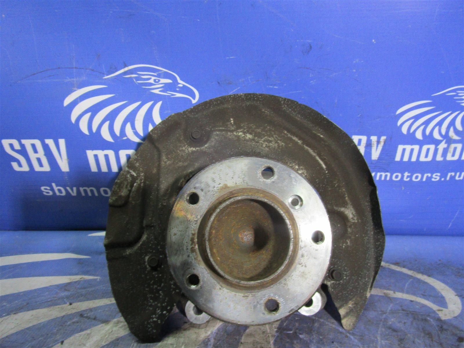 Кулак поворотный Bmw 1-Series E87 N46B20B 2005 передний левый