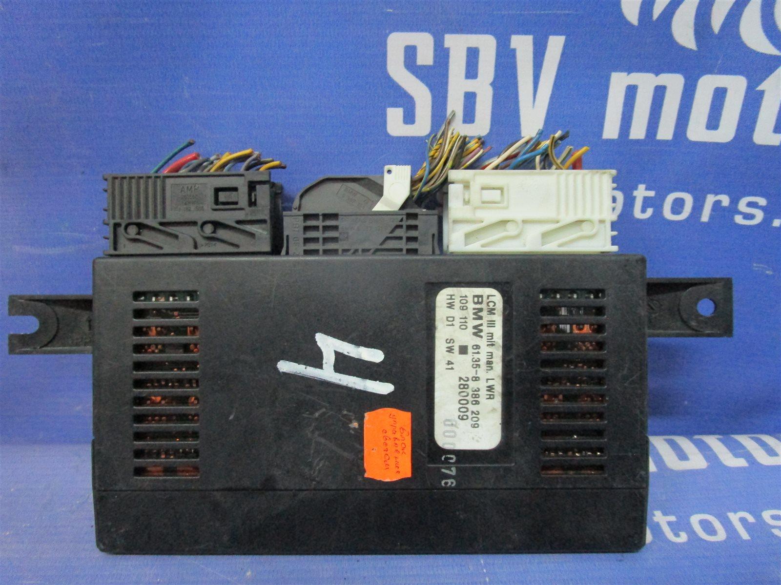 Блок управления светом Bmw 5-Series E39 256S4 M52TU 2000