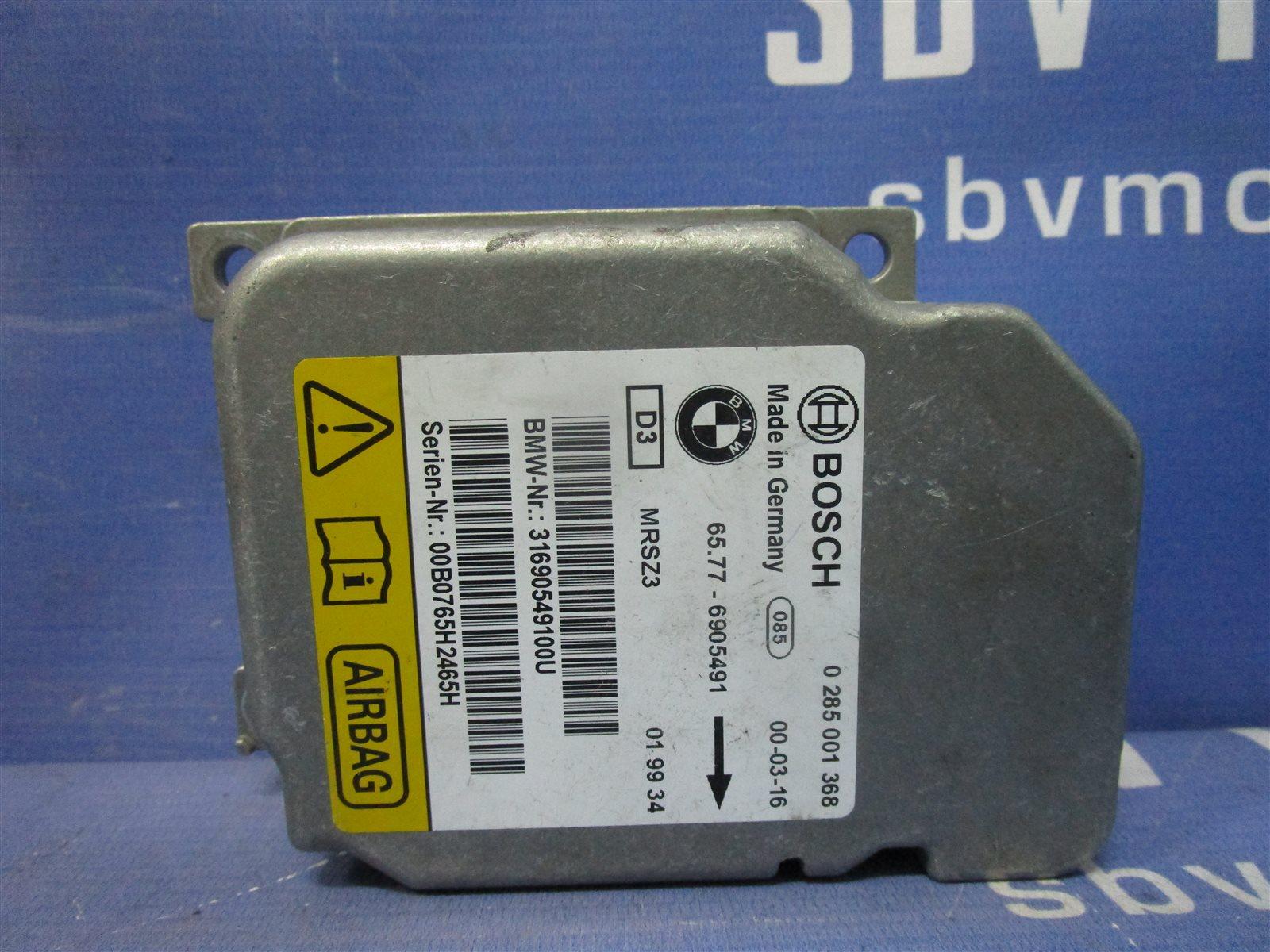 Блок air bag Bmw 3-Series E46 / E462C 206S4 M52 2000