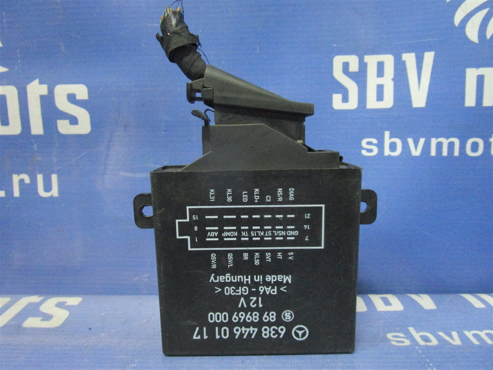 Блок управления пневмоподвеской Mercedes-Benz Vito W638 104.900 2001
