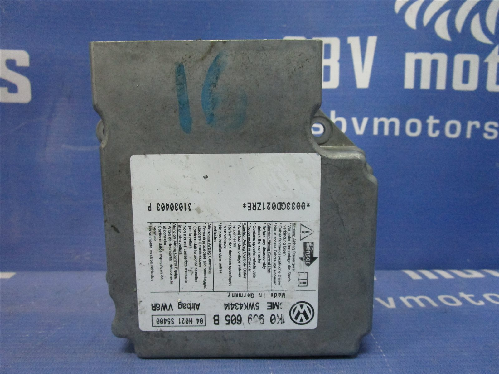 Блок air bag Volkswagen Golf 5 1K1 / 1K5 2004