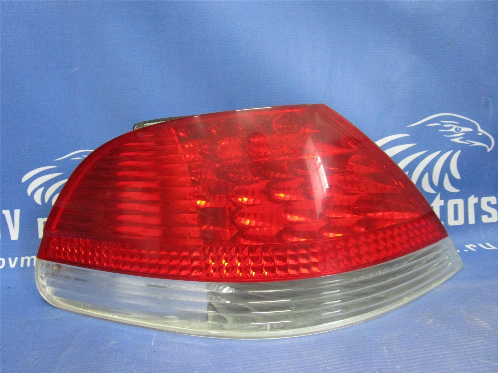 Фонарь задний Bmw 7-Series E65/66 N62B44A 2002 задний левый