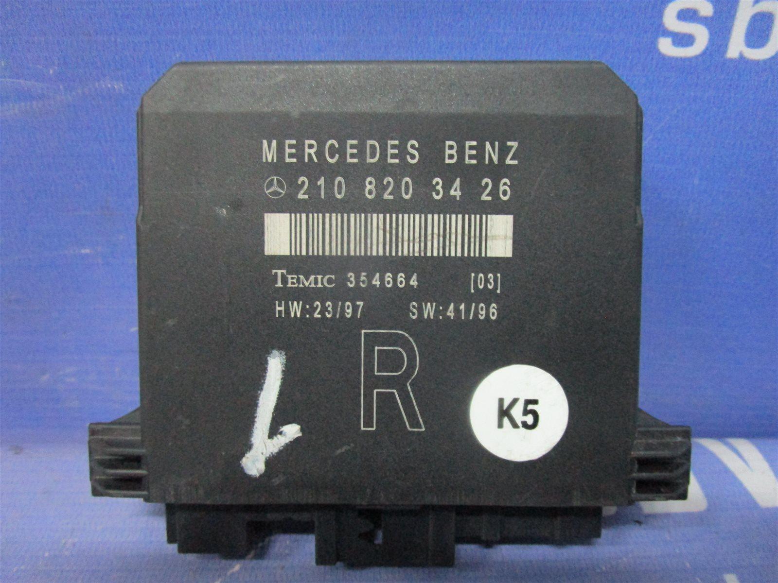 Блок электронный Mercedes-Benz C W202 M112E24 / 112.910 1998