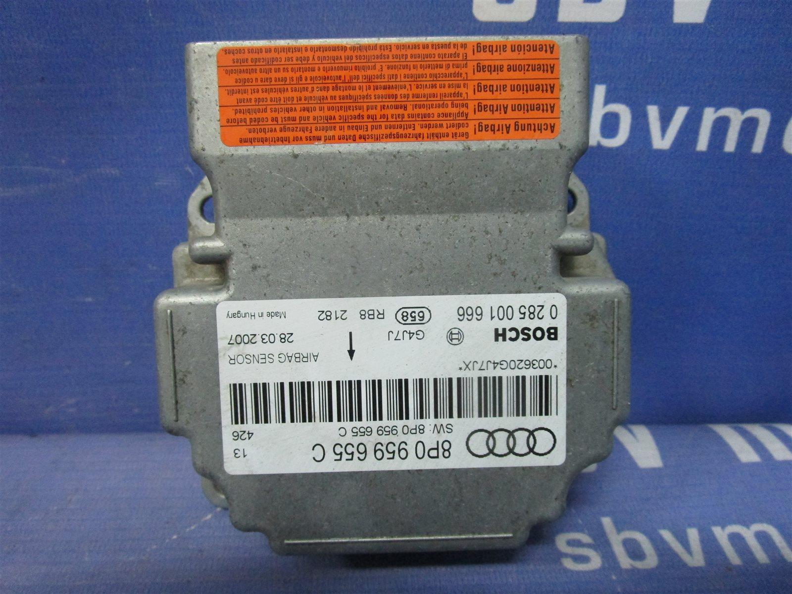 Блок air bag Audi A3 8P
