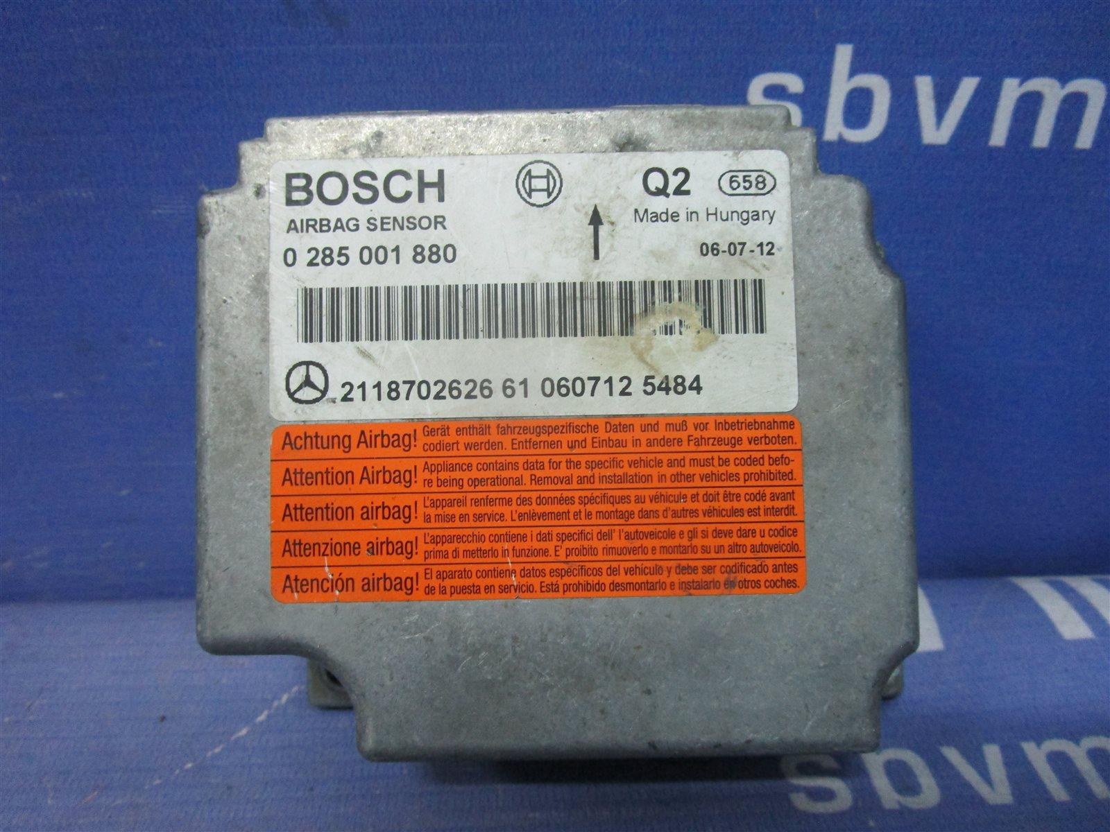 Блок air bag Mercedes-Benz Cls W219 M273E55 / 273.960 2006