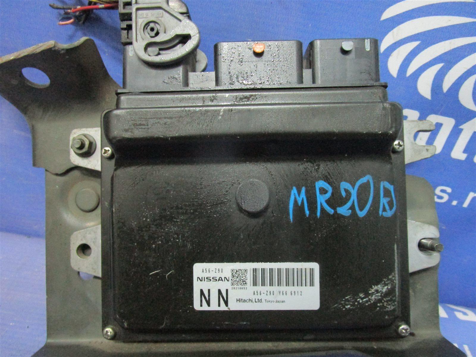 Блок управления двигателем Nissan MR20