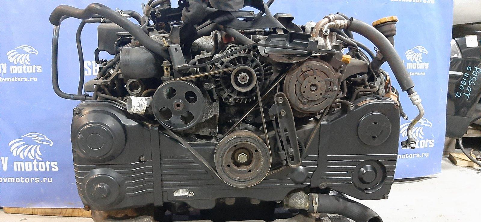 Двигатель Subaru EJ20 контрактная