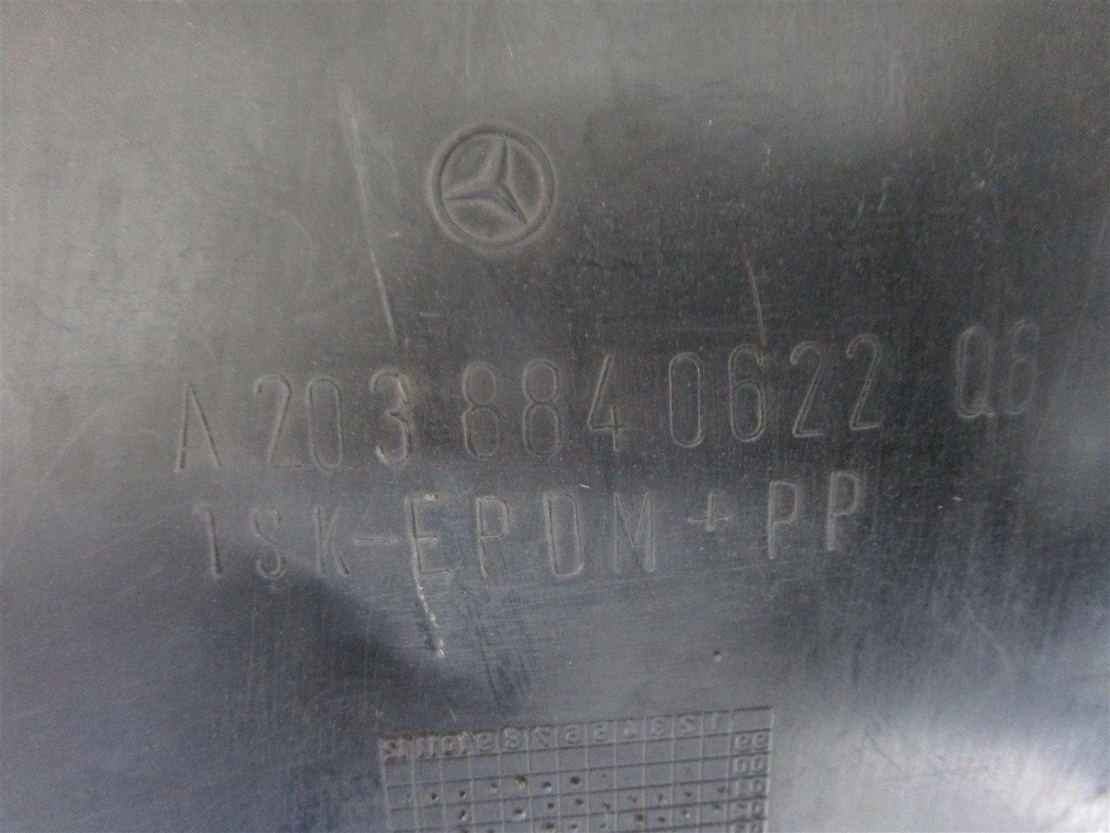 Подкрылок передний правый Mercedes-Benz C W203 / W203.046 M271E18 / 271.946