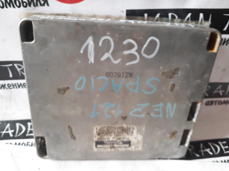 Блок efi Toyota Spasio NZE121 1NZ-FE
