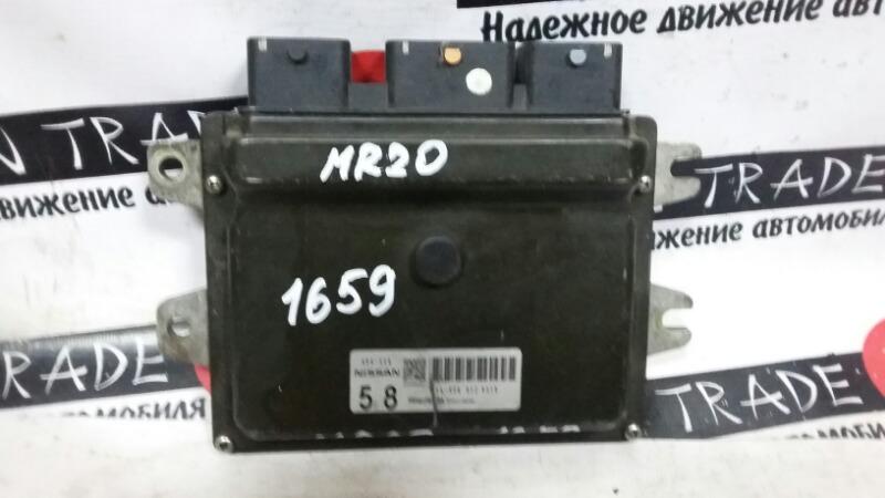 Блок efi Nissan Lafesta B30 MR20DE