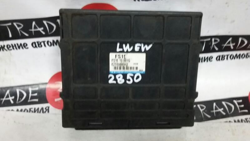 Блок efi Mazda Mpv LWE FSDE