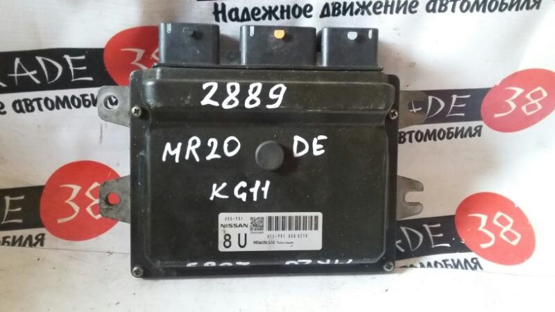 Блок efi Nissan Bluebird Sylphy KG11 MR20DE