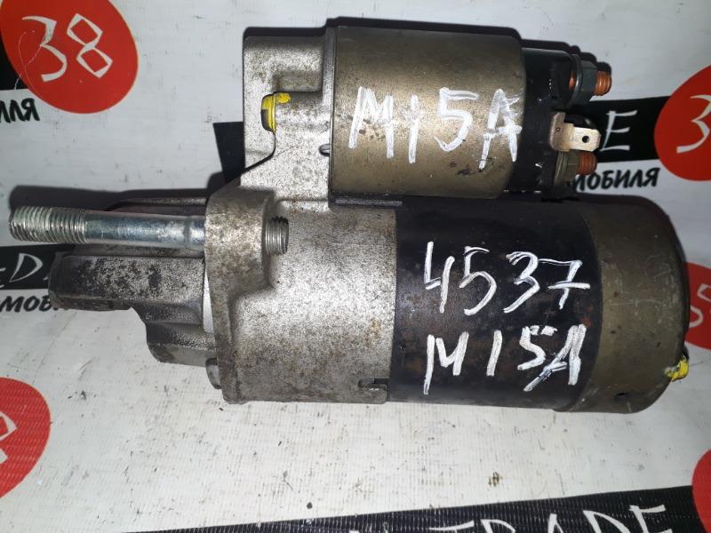 Стартер Suzuki Aerio RB21S M15A