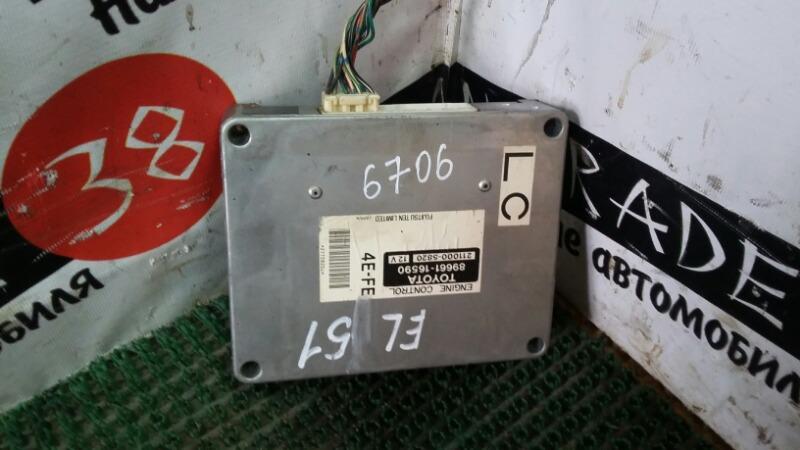 Блок efi Toyota Corsa EL51 4E-FE