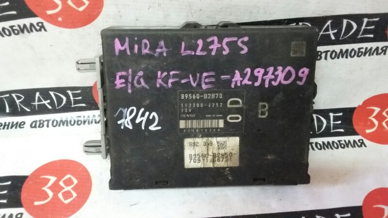 Блок efi Daihatsu Mira L175S KF-VE