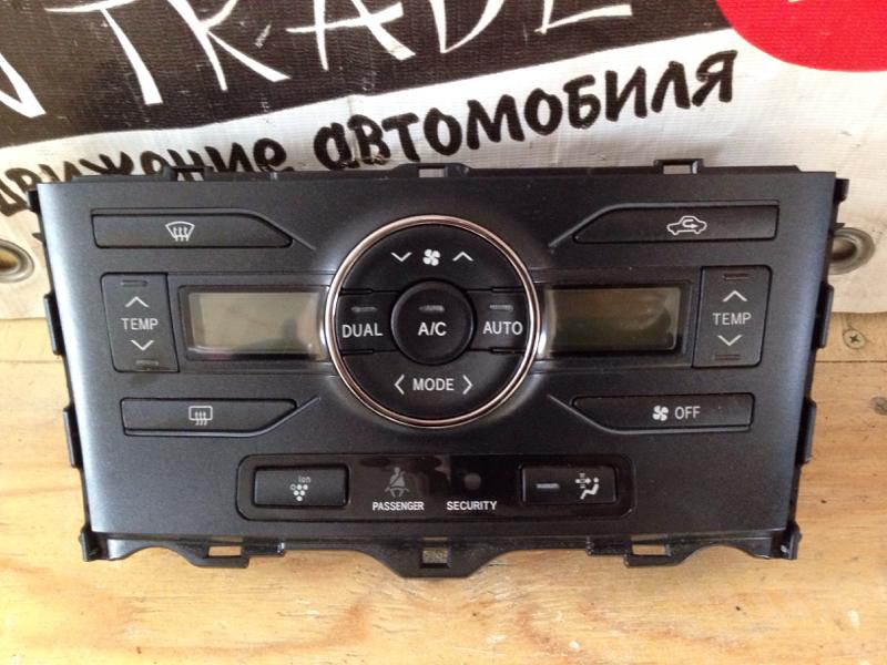 Климат-контроль Toyota Blade AZE154