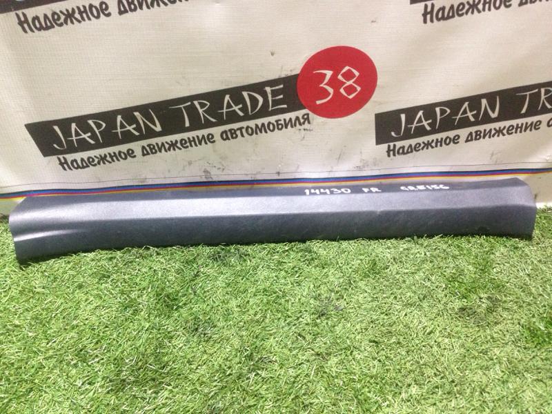 Порожек пластиковый Toyota AZE156 передний правый