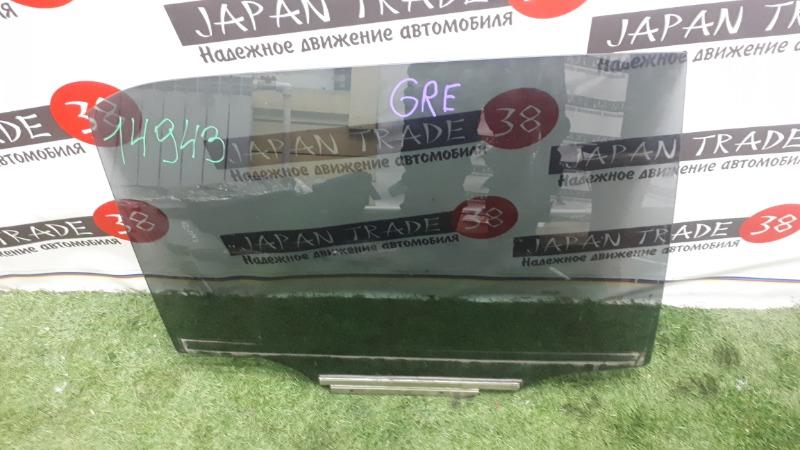 Стекло Toyota Auris NZE151H заднее правое