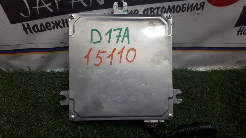 Блок efi Honda Edix BE1 D17A