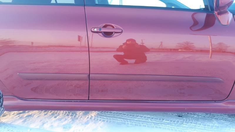Молдинг на дверь Toyota Auris NZE151 задний правый
