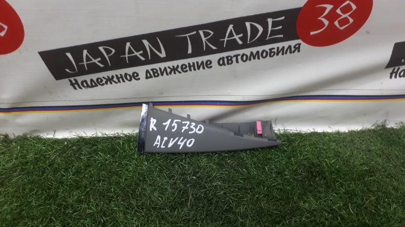 Накладка торпеды Toyota Camry ACV40 правая