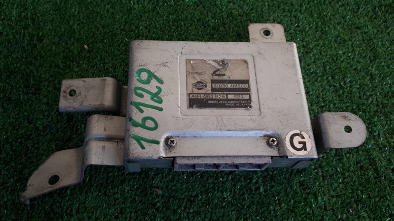 Блок управления акпп Nissan QG15DE