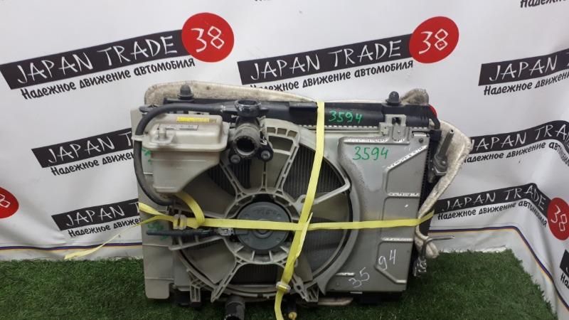 Радиатор охлаждения двигателя Toyota Vitz KSP90 1KR-FE