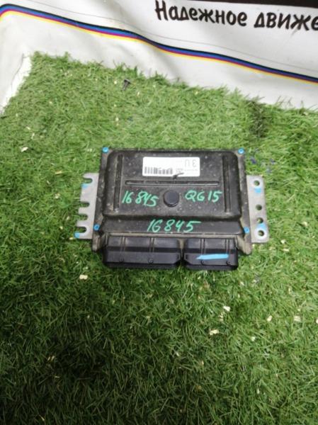 Блок efi Nissan Ad VFY11 QG15DE