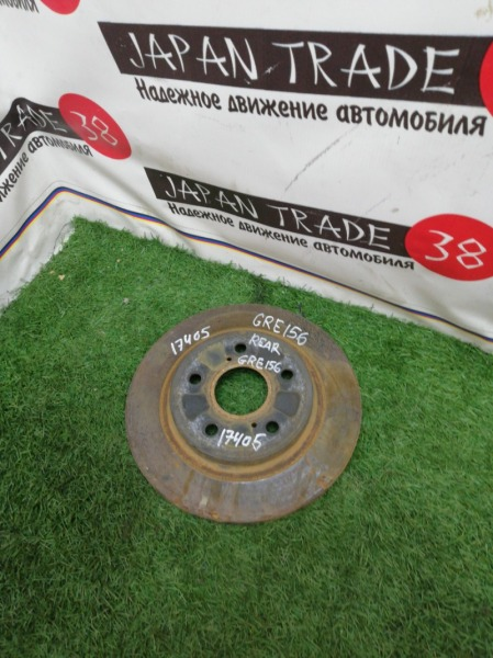 Диск тормозной Toyota Blade GRE156 задний