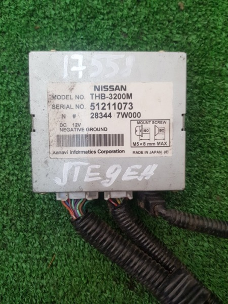 Блок efi Nissan Stegea PNM35 VQ25DD