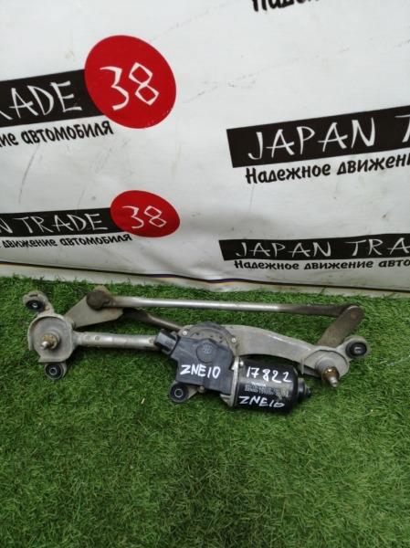 Мотор стеклоочистителя Toyota Wish ZNE10 1ZZ-FE 2006 передний