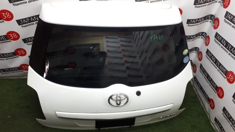 Дверь 5-я Toyota Auris ZRE151 1NZ-FE 2010