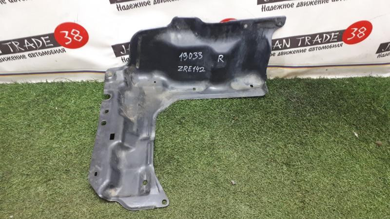 Защита двигателя Toyota Corolla Axio NZE141 правая