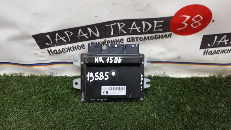 Блок efi Nissan Tiida NC11 HR15DE