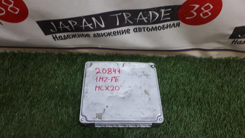 Блок efi Toyota Pronard MCX20 1MZ-FE