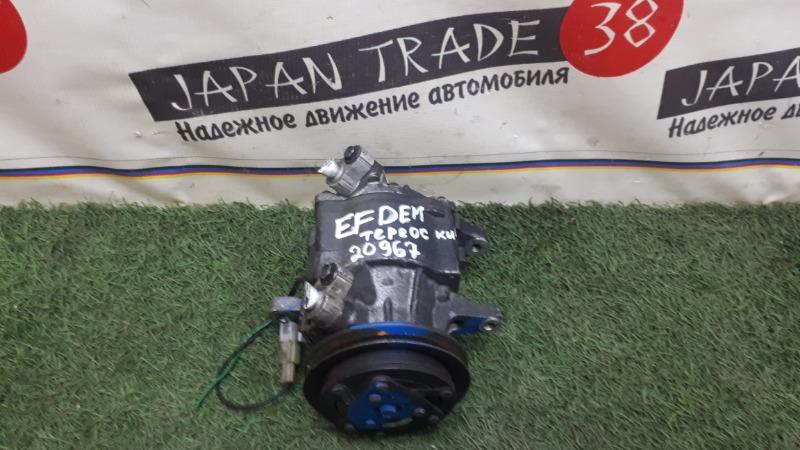 Компрессор кондиционера Daihatsu Terios Kid J131G EFDEM