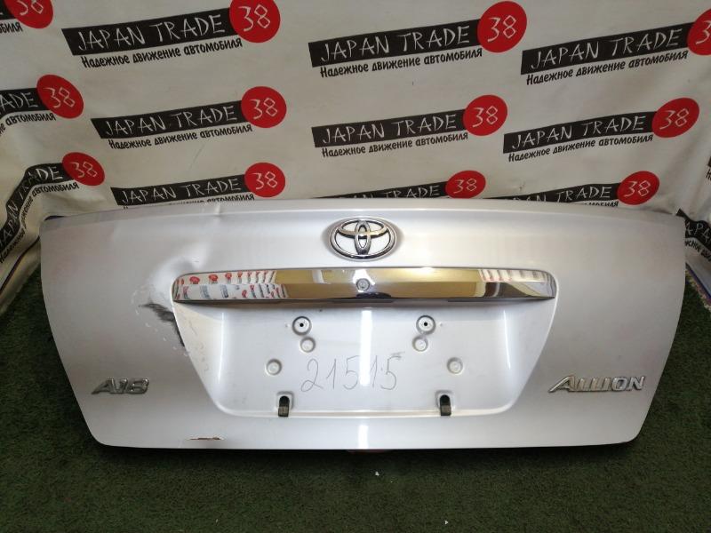 Крышка багажника Toyota Allion ZZT240 12.2004