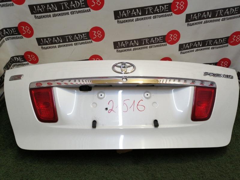 Крышка багажника Toyota Premio ZZT240 12.2004