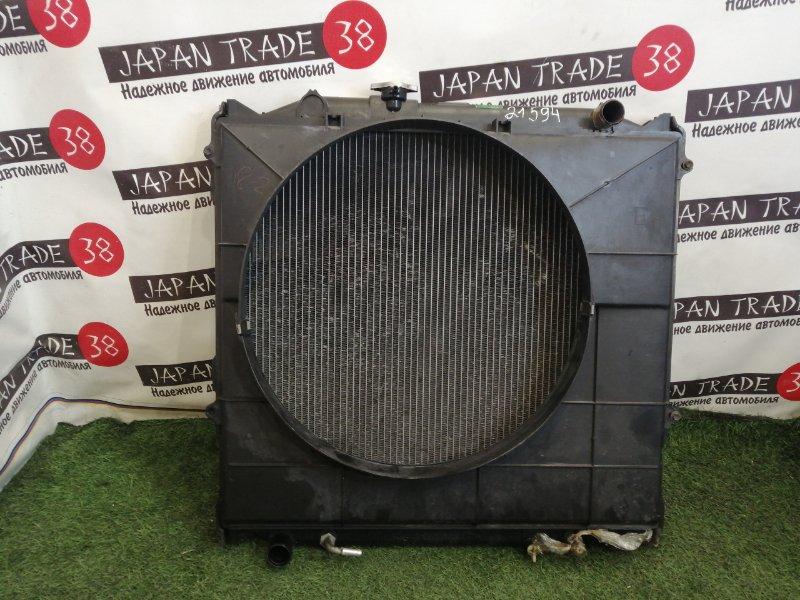Радиатор охлаждения двигателя Toyota Hilux Surf RZN185 3RZ-FE