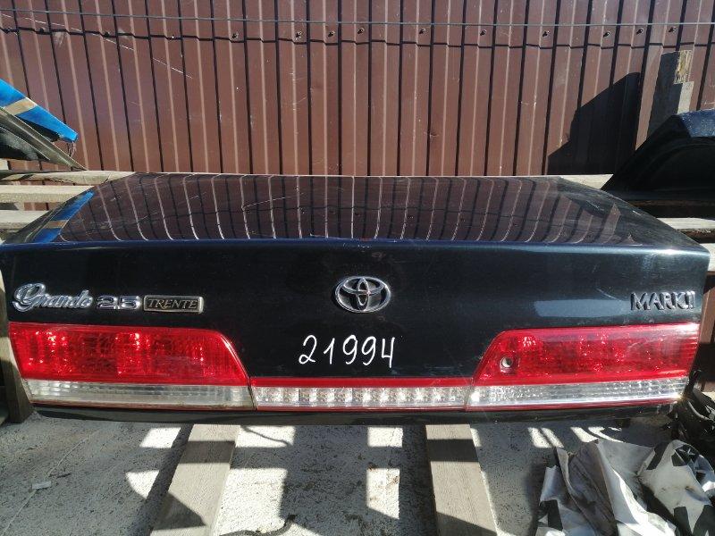 Крышка багажника Toyota Mark Ii JZX100 09.1996
