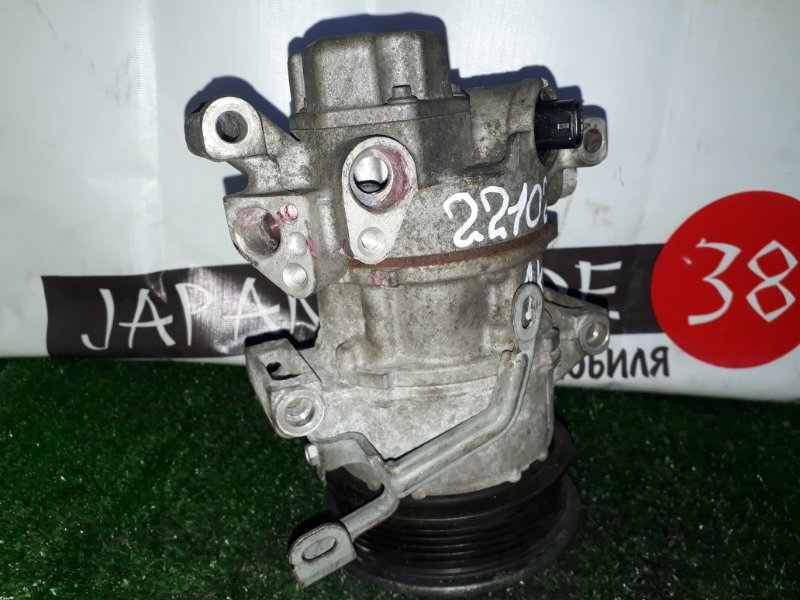 Компрессор кондиционера Toyota Passo KGC10 1KR-FE