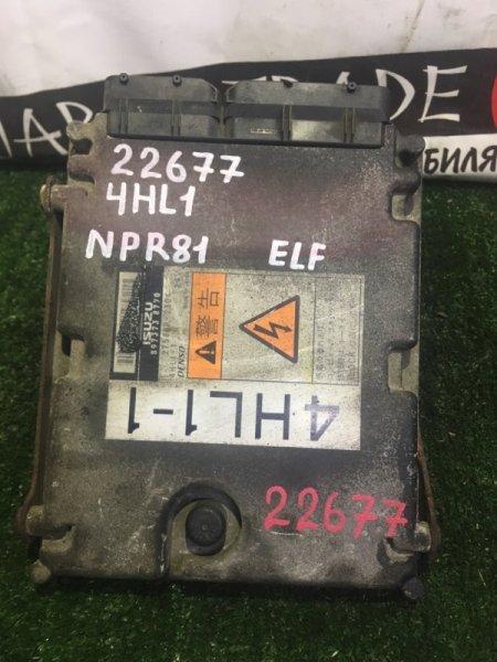 Блок efi Isuzu Elf NPR81L 4HL1