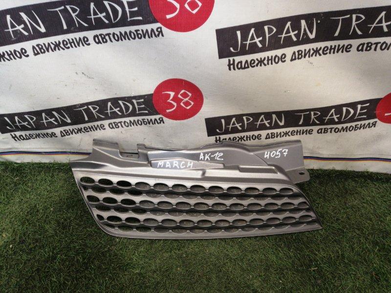 Решетка радиатора Nissan March BK12 правая