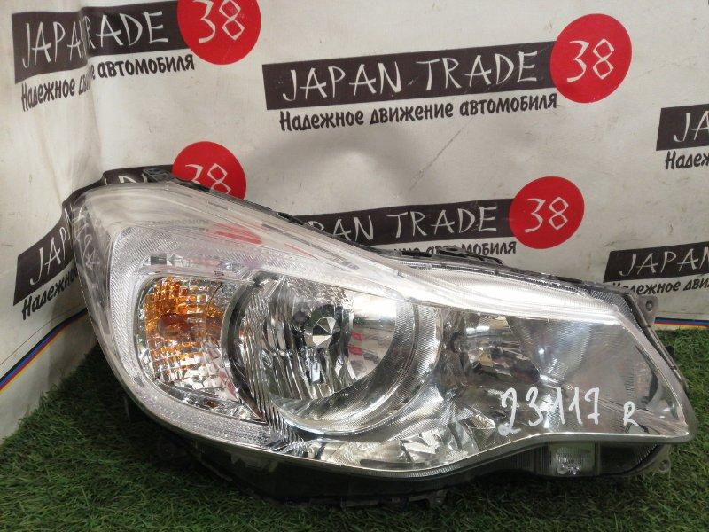 Фара Subaru Impreza GP7 передняя правая