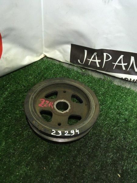 Шкив коленвала Toyota Auris ZRT260 2ZR-FE