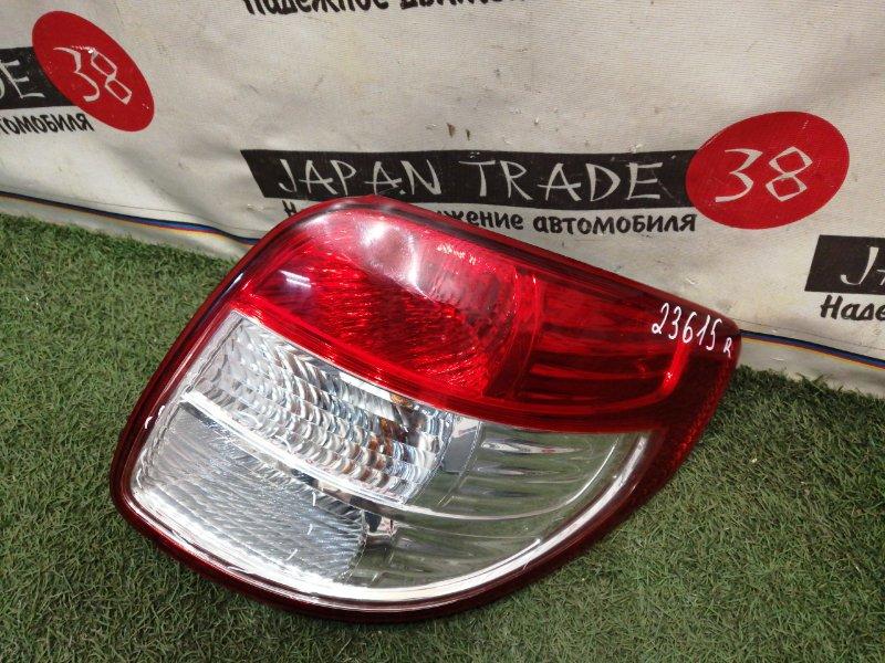 Стоп-сигнал Suzuki Sx4 YA41S задний правый